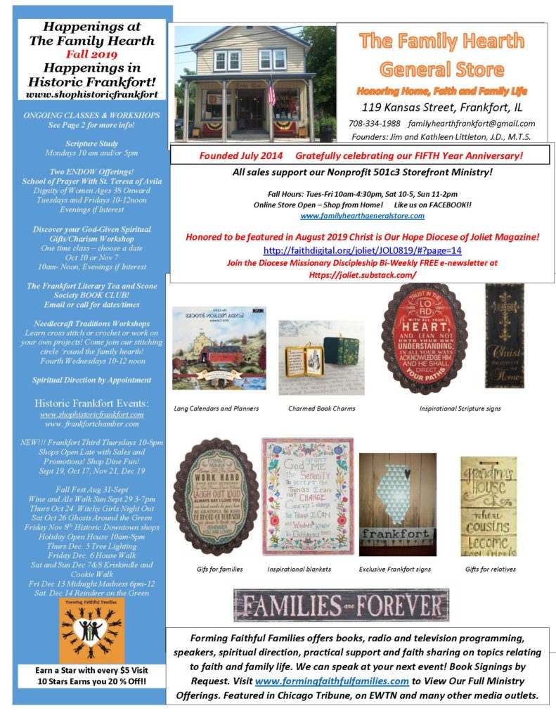Fall 2019 Newsletter - Family Hearth General Store